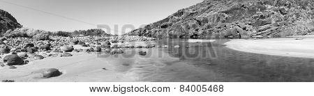 Fleurieu Peninsula South Australia Black And White
