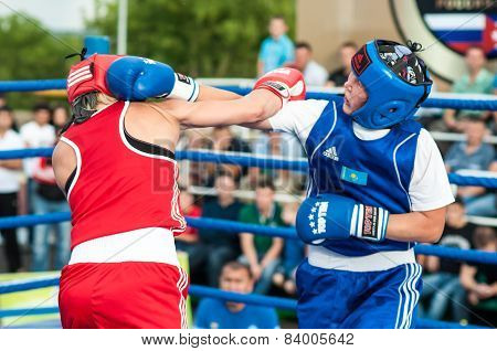 Girls In Boxing Competition