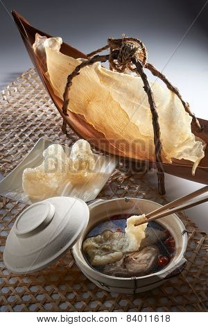 Fish Maw Soup Table Set