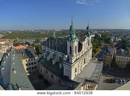 Panorama Of Lublin (poland)