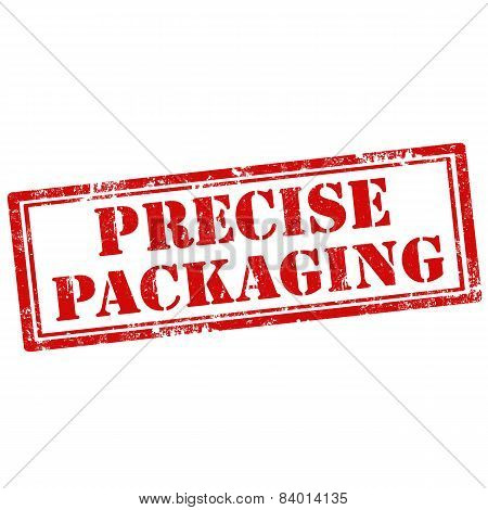 Precise Packaging-stamp