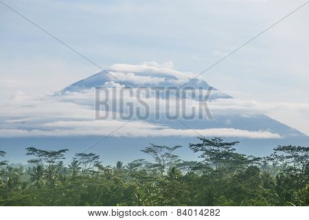 Volcano In Bali, Indonesia