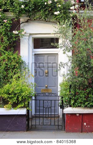 British Style Squared Front Door