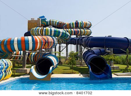 Waterpark In The Open Air