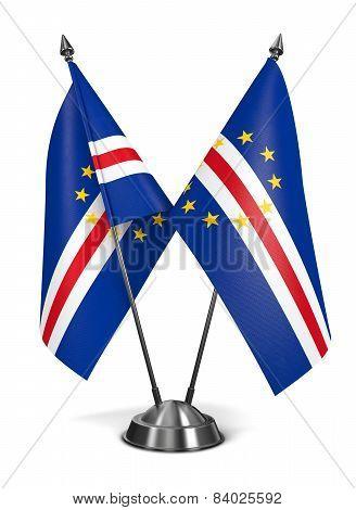 Cape Verde -  Miniature Flags.