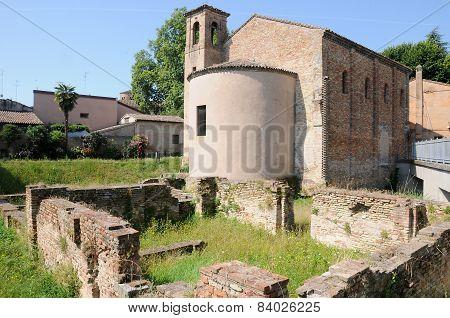 Byzantine Church  Ravenna italy