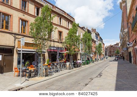Rue Jean Suau Is Located In Toulouse