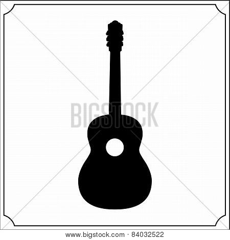 Acoustic Guitar Shape