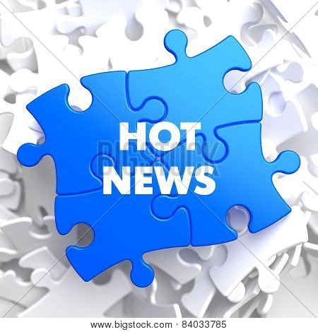 Hot News on Blue Puzzle.