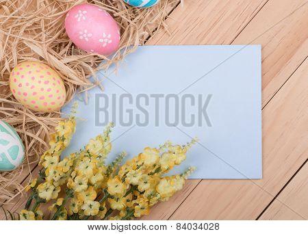 Blank Easter Envelope