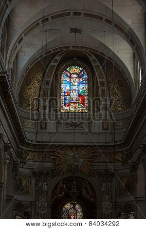 Paris - Saint-Louis-en-l'Isle the parish church of the Ile Saint-Louis