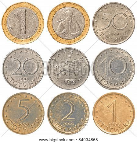 Bulgarian Lev Coins Collection