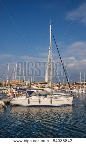 Yachts In Cesme