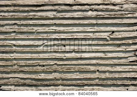 Old Log Cabin Wood Siding