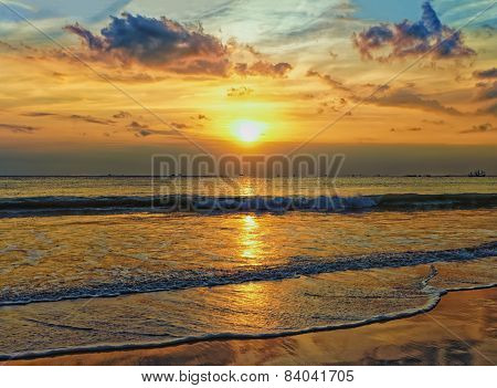 Sea Horizon Sunset