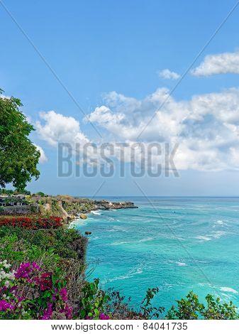 Seascape, Island Of Bali, Indonesia