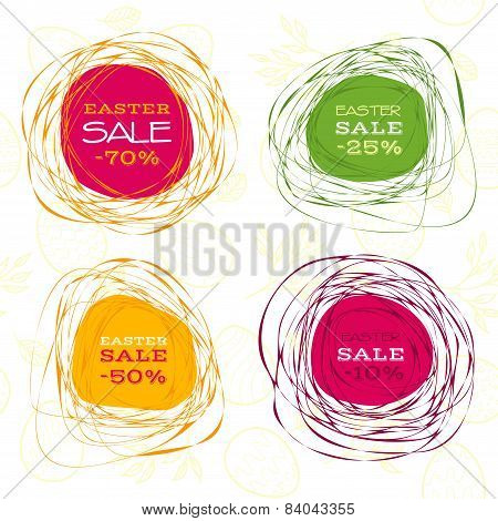 Easter sale abstract frames
