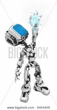 Blue Screen Robot, Data Box Hold