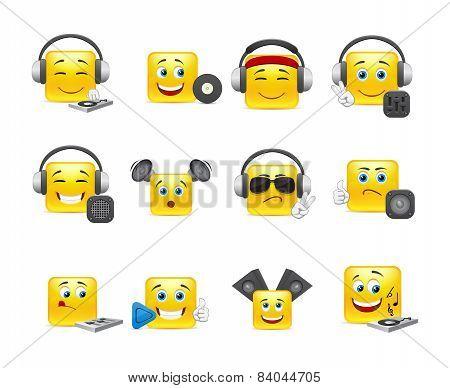Musical Smilies