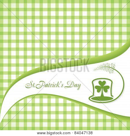 Vector Illustration of Saint Patrick's Greeting stock vector