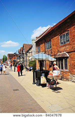 Ice Cream Seller, Stratford-Upon-Avon.