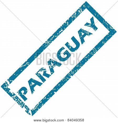 Paraguay rubber stamp