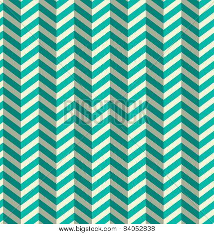 Abstract Vector Blue Toothed Seamless Retro Paper Zig Zag Background