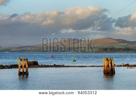River Clyde at Gourock Scotland