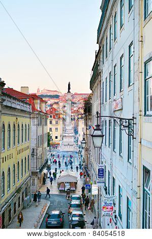 Old Town Street, Lisbon