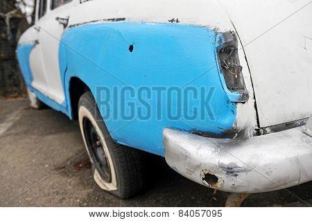 Junk Car Detail