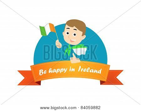 Be Happy In Ireland