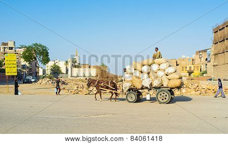 Transportation Of Wool