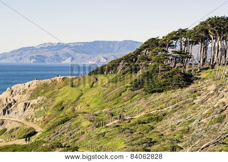 Coastal Cliff in Northern California