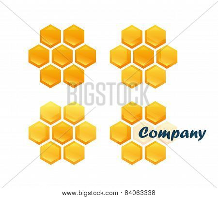 Set Of Honeycombs