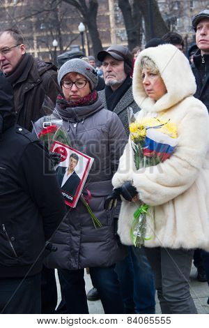 An Unknown Number Of The Magazine The New Times Published The Day Of The Murder Of Boris Nemtsov