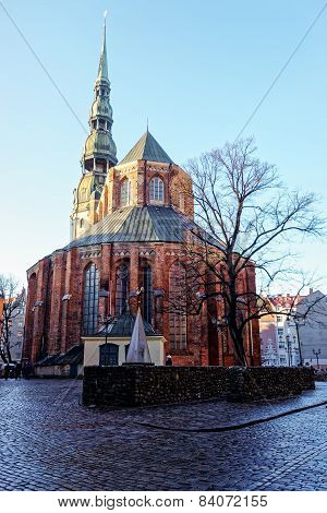 Saint Peters Cathedral In Riga