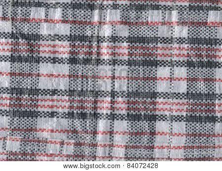 Vietnamese Plastic Woven Bag Texture