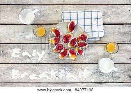 Easy Breakfast Table
