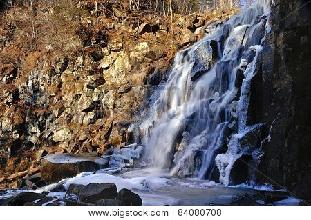 Beautiful Waterfall Gorbatiy