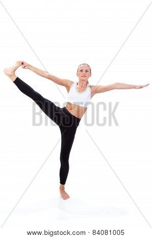 Sport Series: Yoga. Hand To Big Toe Pose