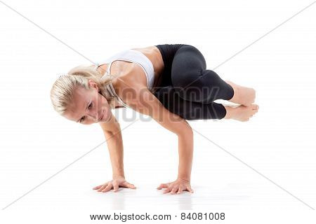 Sport Series: Yoga. Sideways Crow Posture
