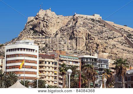 Santa Barbara Castle in Alicante