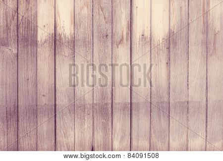Pink Vintage Wood Plank Wall Texture Background