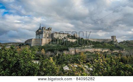 Monastery At Ucles, Castilla La Mancha, Spain