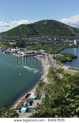 View Of Petropavlovsk-kamchatsky Port. Kamchatka,  Russia