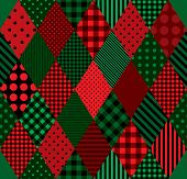 stock photo of harlequin  - Seamless background pattern - JPG