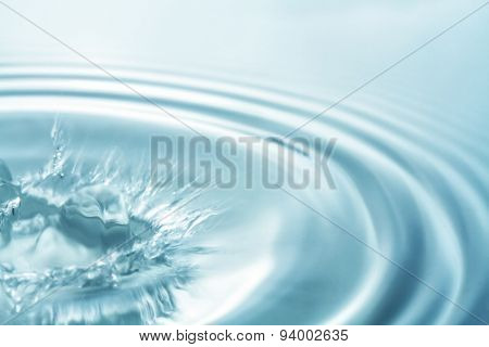 Abstract blurred image of water for background