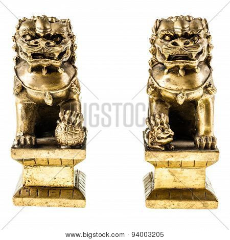Chinese Lion Guardians