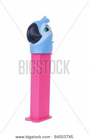 Jewel Pez Dispenser From The Movie Rio