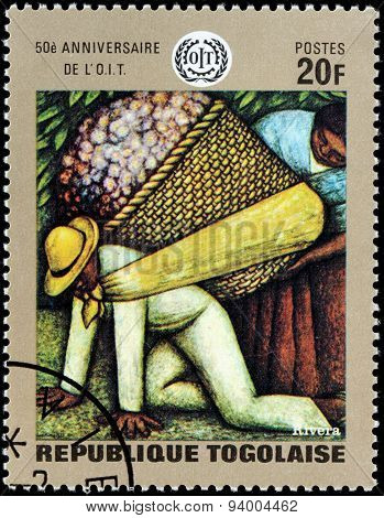 Diego Rivera Stamp